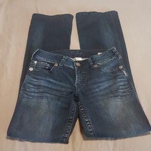 Suki bootcut women's Silver jeans